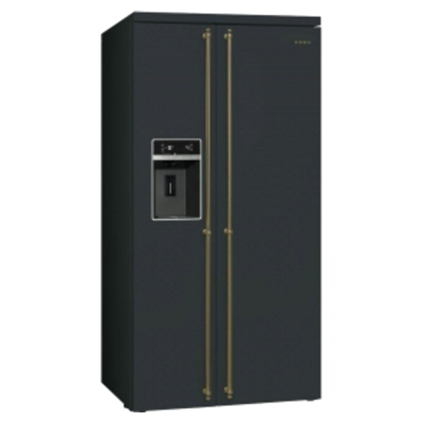 Side-by-Side Smeg CSBS90A2CL