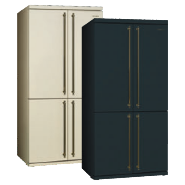 Side-by-Side Smeg CSBS90A4CLT